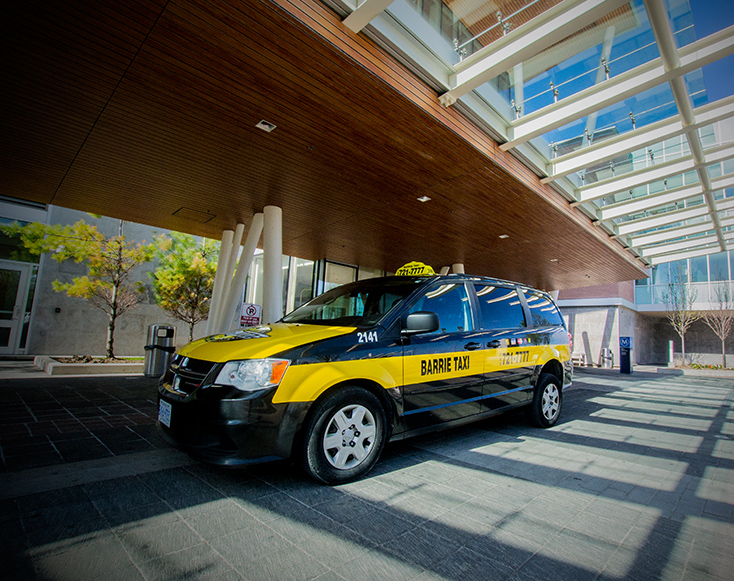 barrie taxi at rvh hospital